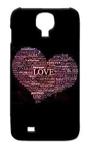 """Rebel Mobile Case Print Design - """"Grammar of Love"""" For -Samsung S4"""