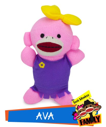 Ava from The Sock Monkey Family - 1