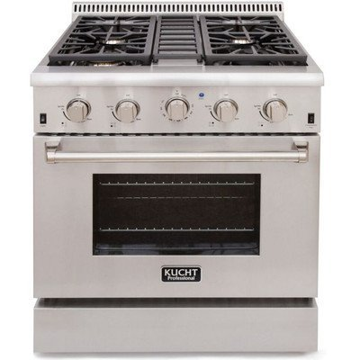 Kucht-KRG3080ULP-30-Professional-Class-Gas-Range-Convection-Oven-in-Stainless-Steel
