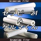 セラピー21・ゲルマくん【交換用フィルター 1本】ゲルマニウム温浴・温浴器