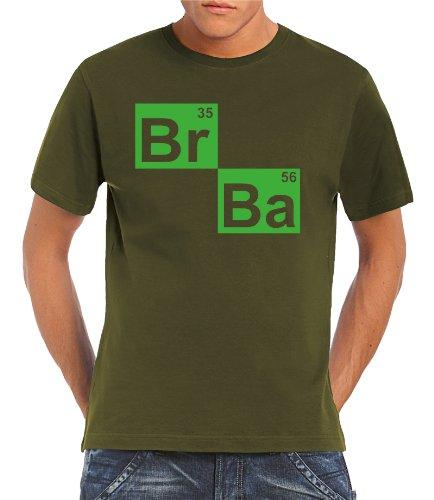 Touchlines-T-Shirt-BR-BA-Formel-Heisenberg-Camiseta-de-manga-corta