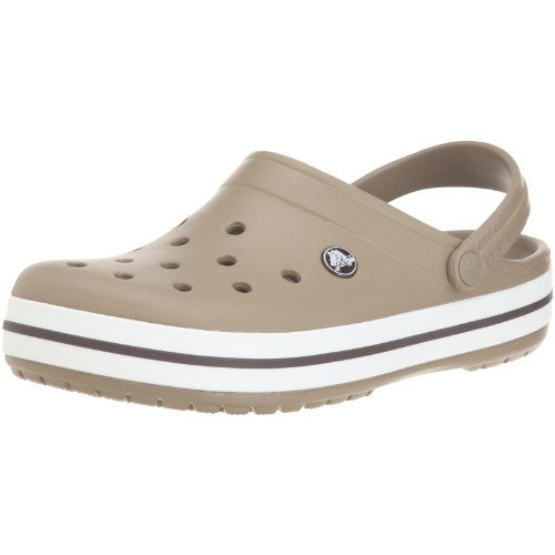 Crocs Unisex-Adult Crocband Slide Sandal Khaki 11016-260-006 6 UK