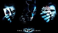映画 バットマン ダークナイト ポスター 約90x60cm ジョーカー ハービーデント The Dark Knight 【並行輸入品】
