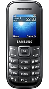 Samsung E1200 Mobile Phone Vodafone Pay As You Go / Pre-Pay / PAYG - Black