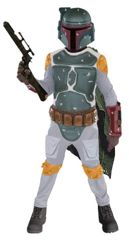 Costumes For All Occasions Ru83037Lg Boba Fett Child Deluxe Large