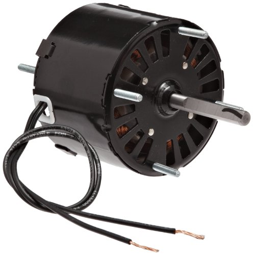 """Fasco D126 3.3"""" Frame Open Ventilated Shaded Pole General Purpose Motor WithSleeve Bearing, 1/40Hp, 1500Rpm, 115V, 60Hz, 1.1 Amps"""