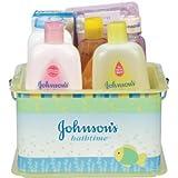 Johnson's Bathtime Essentials Gift Set Johnson And Johnson Shampoo Lotion Baby Infant Wash
