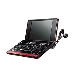 セイコーインスツル IC DICTIONARY SR-G6000M 4.0型/TFT-VGA液晶搭載 シルカカードレッド/音声対応 英語コンパクトモデル