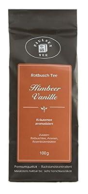 Paulsen Tee Rotbuschtee Himbeer-Vanille 100g