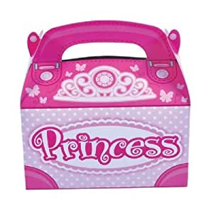 Shindigz Pink Princess Party Favor Treat Boxes