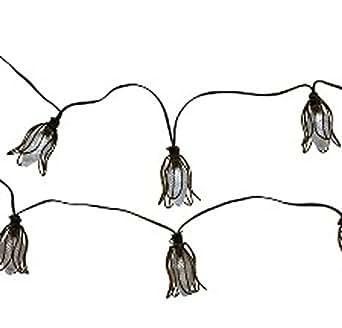 Amazon.com: ThresholdTM Solar Metal Flower String Lights (20ct): Home Improvement