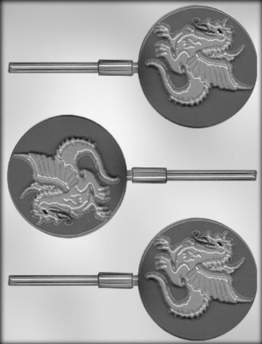 CK Products 3-Inch Dragon Sucker Chocolate Mold