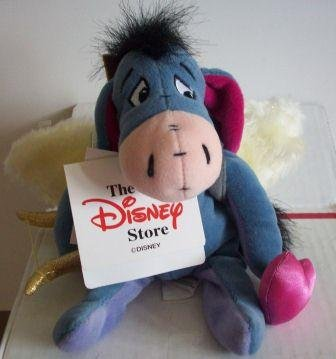 Eeyore Dreams with Wings Bean Bag Plush - 1