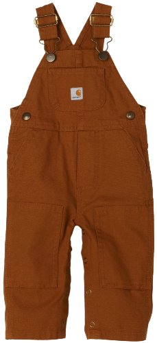 Carhartt Baby-boys Infant Washed Duck Bib Overall,