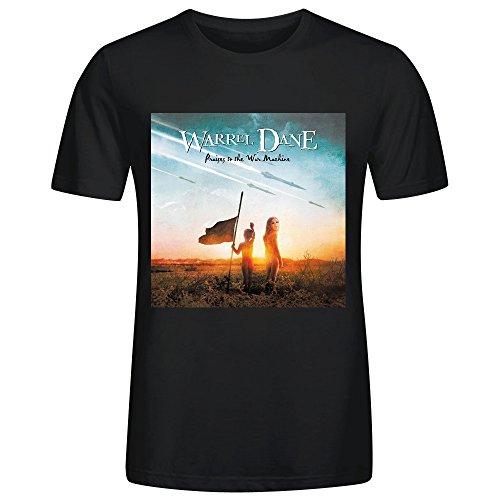 Gerlernt Warrel Dane Praises To The War Machine T Shirts For Men O Neck