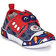 Good Premium Quality Comfortable Designer Red Cartoon Print Velcro Casual Party Wear Sports Running Shoes For...