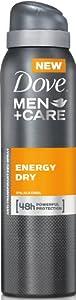 Dove Men+Care Deo Spray Energy Dry, 3er Pack (3 x 150 ml)