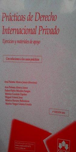 PRACTICAS DE DERECHO INTERNACIONAL PRIVADO