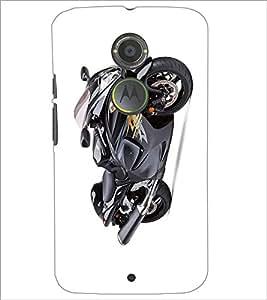 PRINTSWAG BLACK BIKE Designer Back Cover Case for MOTOROLA MOTO X2