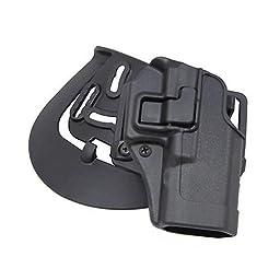 BlackHawk CQC™ Concealment Holster Matte Finish Glock 19 / 23 / 32 / 36 - BLACK, RH