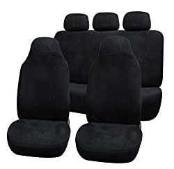 Univerisal Car Seat Cover Full Set Fb105 Black 115
