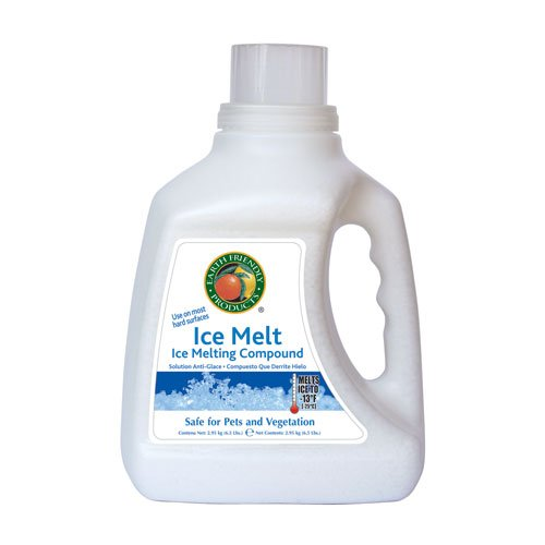 Earth Friendly Products 491080 Ice Melt Compound, 6.5-Pound front-160007