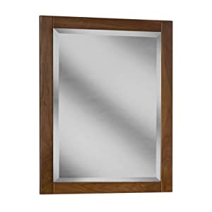 Coastal Collection GFM-2433 Georgetown Series Black Walnut with Chestnut Finish Framed Mirror 24-Inch-by-33-Inch