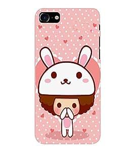 EPICCASE Bunny me Mobile Back Case Cover For Apple iPhone 7 (Designer Case)