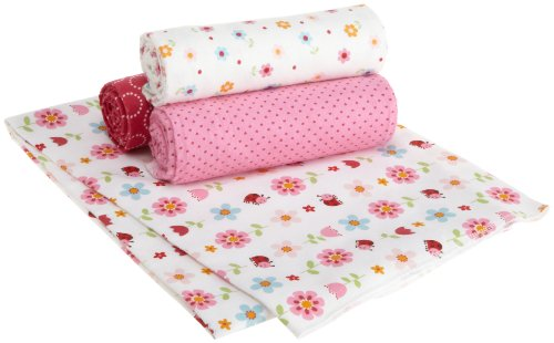 Carters Wrap Me Up Receiving Blanket, 4 Pack, Magenta (Discontinued by Manufacturer)