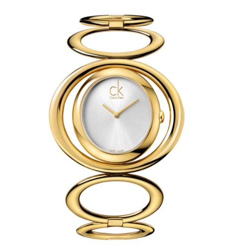 Calvin Klein K1P23520Graceful Ladies 'Watch XS Analog Stainless Steel PVD Gold