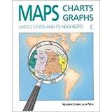 Maps, Charts and Graphs, Level E, United States and Its Neighbors, Western Hemisphere