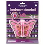 Butterfly Bedroom Doorbell girls kids...