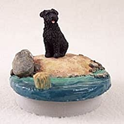 Bouvier des Flandres Candle Topper Tiny One \