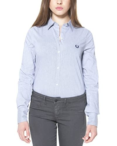 Fred Perry Camisa Mujer Azul