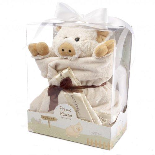 Imagen de Bebé Aspen Pig-nA Manta 2-piece set de regalo