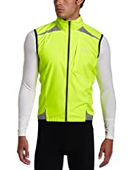 GORE BIKE WEAR Men's Visibility Vest WINDSTOPPER Active Shell, neon yellow, Size: L, VWVIST080009