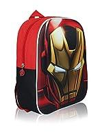 AVENGERS Mochila 3D Iron Man (Rojo)