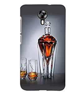 MICROMAX CANVAS XPRESS 2 E313 GLASSES Back Cover by PRINTSWAG