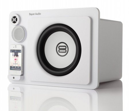 Bayan Audio 3XL Limited Edition White Speaker Dock for iPhone & iPod Black Friday & Cyber Monday 2014