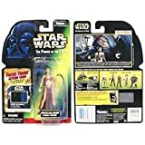 Star Wars the Power of the Force - Princess Leia Organa as Jabba's Prisoner Action Figure ~ Star Wars