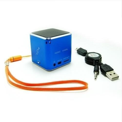 Original Music Angel Player Jh-Md07 Tf Card Portable Mini Digital Speaker Blue
