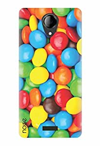 Noise Gems Printed Cover for Micromax Canvas Pace 4G Q416