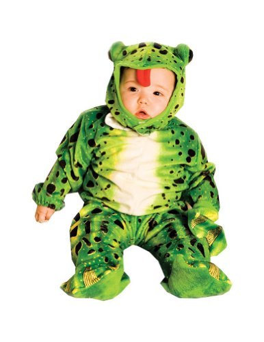 Baby-boys - Plush Green Frog Toddler Costume Halloween Costume