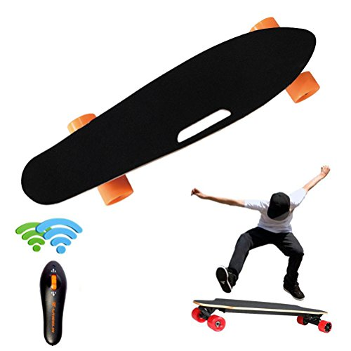Elaco Wireless Remote Control Four Wheels Electric Skateboard Longboard Skate Board