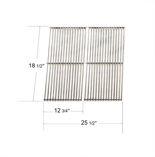 54712 - Char-Broil, Kenmore And Dcs (Dynamic Cooking Systems) Gas Grill Replacement Stainless Steel Wire Cooking Grid/Cooking Grates front-64873
