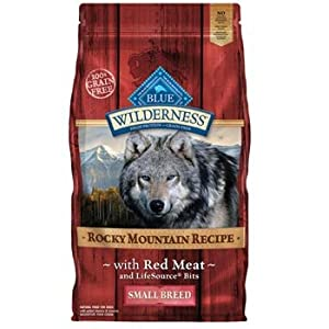 Blue Buffalo Wilderness Adult Small Breed - Red Meat - 4lb