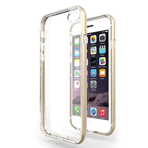 funda-iphone-6-6s-plus-55-azorm-hybrid-edition-oro-bumper-con-efecto-metalico-transparente-fina-anti