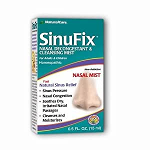 SinuFix Mist - For fast, natural sinus relief - 0.5 oz