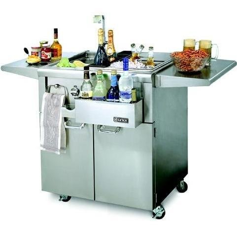 Lynx Cs30F-1 Cocktail Station On Cart, 30-Inch front-950904
