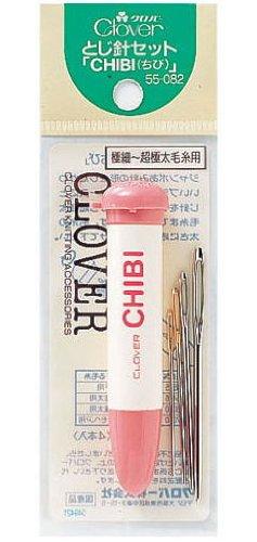 〔クロバー〕 とじ針セット「CHIBI」 55-082